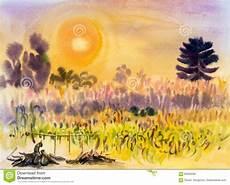 Blumen Malvorlagen Kostenlos Umwandeln Malerei Auf Papierbuntem Der Umwandlung Mais Blumen