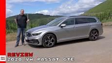 2020 vw passat gte estate wagon review