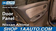 how to install repair replace rear door panel buick lesabre 00 05 1aauto com youtube how to install replace remove rear door panel nissan altima 98 01 1aauto com youtube
