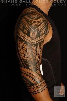 Maori Polynesian Polynesian Sleeve Tatau