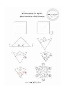 sechseckige schneeflocken aus papier anleitung