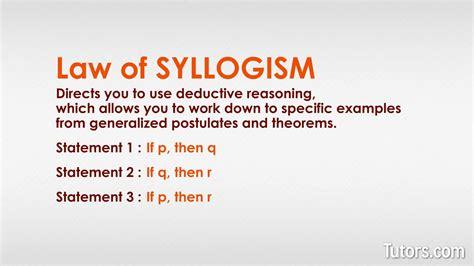 Syllogism