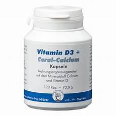 vitamin d3 coral calcium kapseln 120 st 252 ck