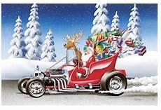 rod santa and how he built his t bucket sleigh