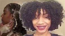 my curly hair routine wash n go kimberlyn xo youtube