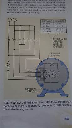 Wiring 6 Lead Single Phase Motor With Forward And