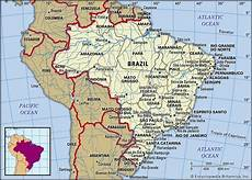 brazil history map culture population facts