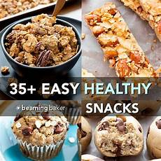 35 easy healthy snack recipes vegan gluten free refined sugar free beaming baker
