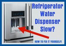 Kitchenaid Refrigerator Troubleshooting Water Dispenser by Refrigerator Water Dispenser Not Enough Cubes