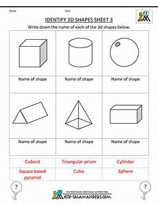 shapes worksheet easy 1097 second grade geometry