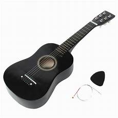 beginner acoustic guitars new beginners black basswood acoustic guitar with guitar wire strings 11street