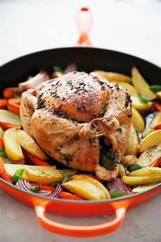 s clean kitchen one pan roast chicken dinner