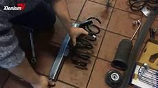 how to reparatur federbruch vorne am opel corsa d