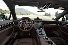 2017 Porsche Panamera Drive Review Motor Trend