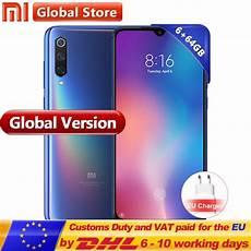 mi 9 global rom aliexpress com buy global version xiaomi mi9 64gb 6gb rom mi 9 smartphone snapdragon 855 octa