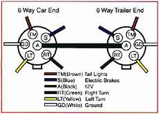 Wiring Diagram For Trailer Light 6 Way