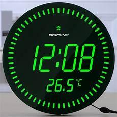 digitime remote led electronic clock stylish minimalist