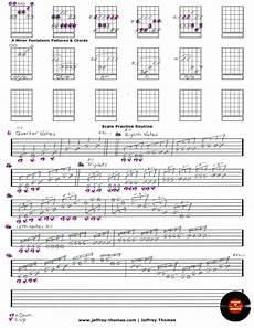 guitar practice routine guitar bass and ukulele lessons by jeffrey