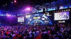the world darts chionship could be held abroad one day