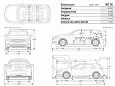 Dimension Mercedes A