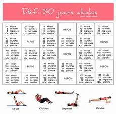 Exercice Abdo Femme 30 Jours