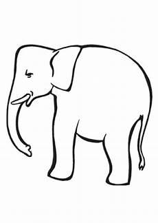 ausmalbild kleiner elefant zum ausmalen zum ausdrucken