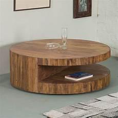 design couchtisch rund runder couchtisch skivor design tisch rund sheesham holz