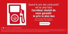 gasoil a prix coutant carburant carrefour la garantie prix le plus bas l