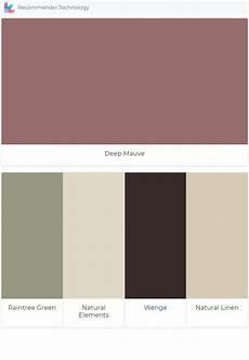 deep mauve raintree green natural elements wenge natural linen in 2020 bedroom wall colors