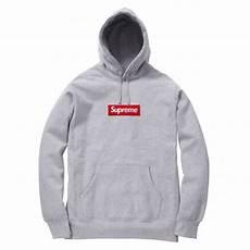 supreme hoodies supreme box logo pullover hoodie gray
