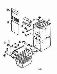 lennox g12 82 7 furnace wall genuine parts