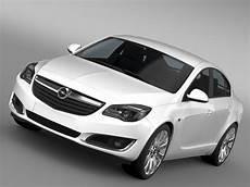 Opel Insignia 2015 3d Model Flatpyramid