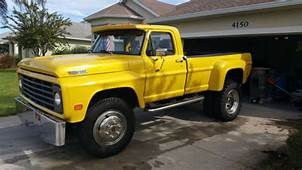 Ford Other Pickups Standard Cab Pickup 1967 Yellow For