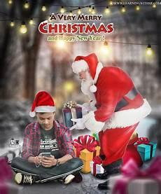 christmas photo editing 2020 new year merry christmas picsart photo editing latest