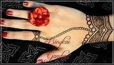 Gambar Henna Jari Tangan Gambar Kelabu