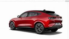 ford configurateur configurateur ford mustang mach e photos insideevs