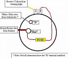 Chevy 3 Wire Alternator Wiring 1 2 Terminal by The Product 2
