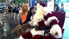 merry christmas the real santa in melbourne youtube
