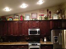 Home Decor Ideas Kitchen Cabinets by Above Kitchen Cabinet Decor Home Sweet Home