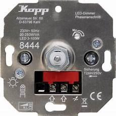 kopp 844400008 unterputz dimmer geeignet f 252 r leuchtmittel