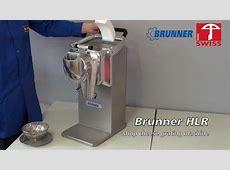 Brunner Anliker commercial cheese grater HLR   YouTube