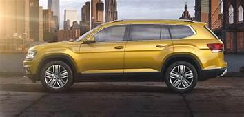 Volkswagen Atlas Seven Seat SUV Revealed  Photos 1 Of 14