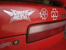 A New Tattoo For My Car Babymetal Next To Arch Enemy And