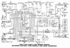 ford f100 light switch wiring diagram turn signals circuit wiring diagrams