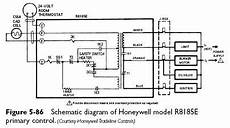 honeywell burner diagram cadmium cell primary controls heater service troubleshooting