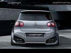 rear bumper lambo vw golf mk5