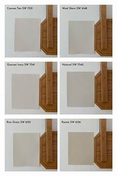 paint colors for honey oak trim cabinets six light beiges from sherwin williams
