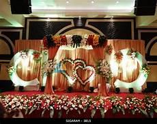 reception decoration at anandha inn hotel pondicherry