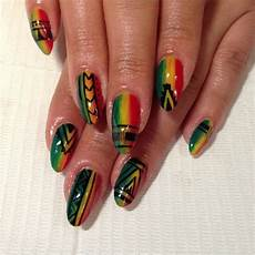 tribal rasta nails rasta nails nails tribal nails