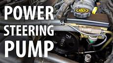 How To Replace Power Steering And Flush Ps Fluid